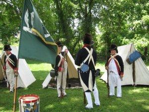 waynes muster soldiers