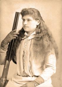 Annie Oakley, 1880